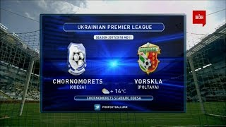 Chernomorets O. vs Vorskla full match