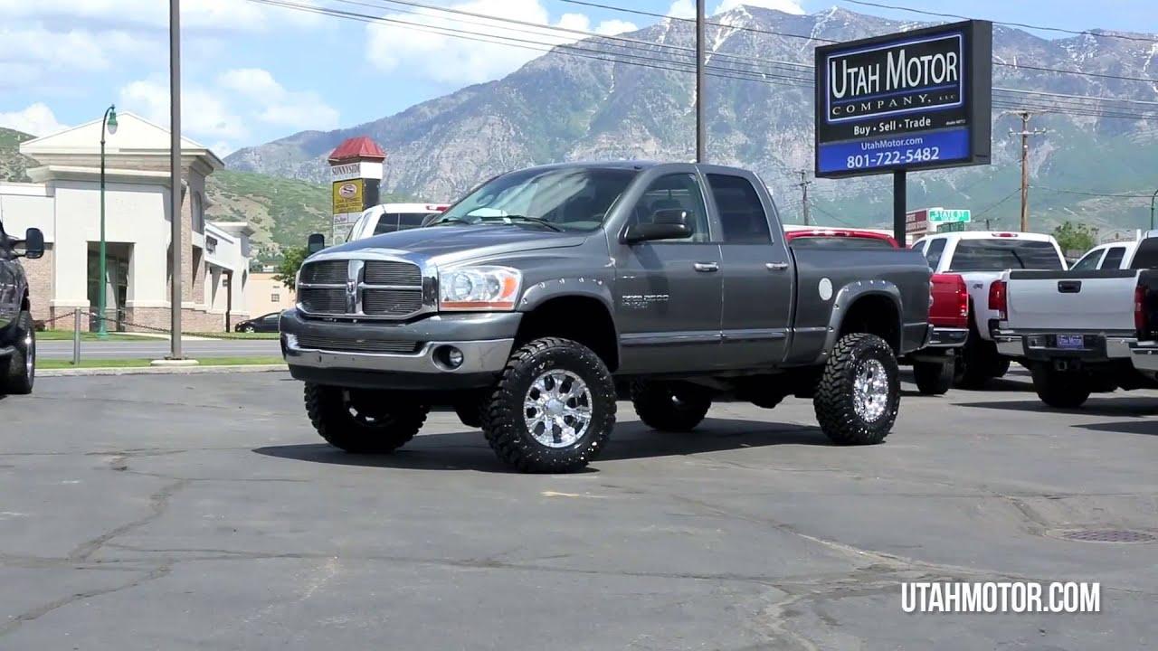 2006 Dodge Ram 2500 SLT 5 9L Lifed HO Cummins Turbo Diesel Utah Motor pany LLC 801 722 5482