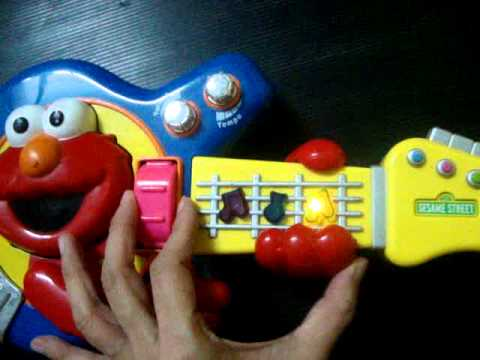Fisher-Price Sesame Street Jam with Elmo Guitar by www.iceandnut.pantown.com