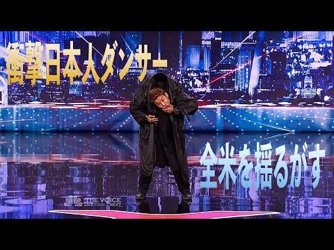 (和訳)日本人ダンサー 全米で圧巻のパフォーマンス Ebina Kenichi  America's Got Talent