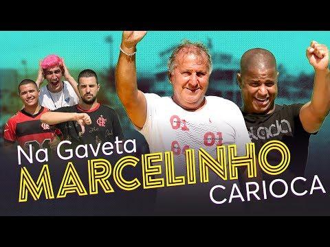 NA GAVETA #13 -  MARCELINHO CARIOCA - Desafio De Falta | Canal Zico 10