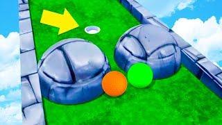 САМЫЙ ЭПИЧНЫЙ ГОЛЬФ! ПОПАСТЬ ВО ВСЕ ЛУНКИ С ОДНОЙ ПОПЫТКИ ЧЕЛЛЕНДЖ В ГОЛЬФ ИТ (Golf It)
