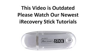 iRecovery Stick Tutorial