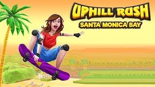 Uphill Rush Santa Monica Bay Gameplay | Android Racing Game