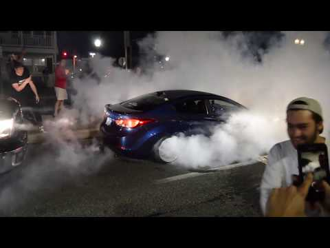 2018 Ocean City H2oi Burnouts // Donuts // Cops (30th Street and Baltimore Ave)