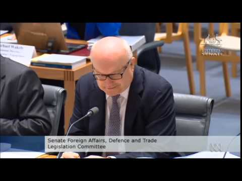 """""""Are these questions meant seriously?"""" George Brandis in late night estimates"""