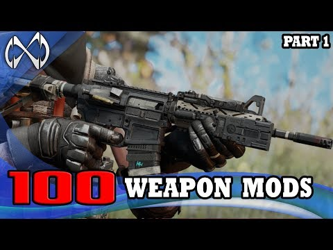 100 INSANE Weapon Mods For Fallout 4
