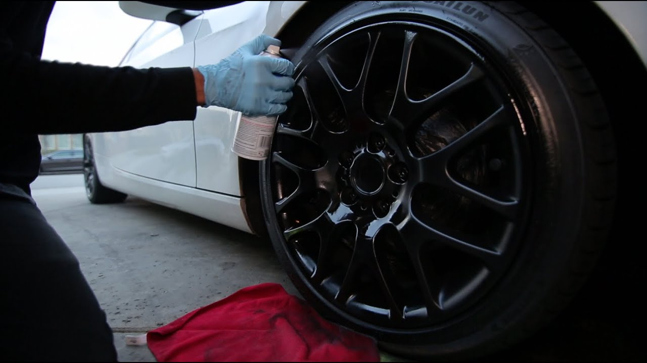 How To Plasti Dip Your Rims The Right Way Youtube