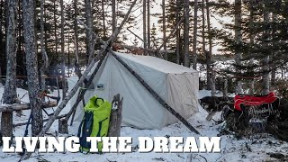 LIVING THE DREAM: Winter Camp and Fish