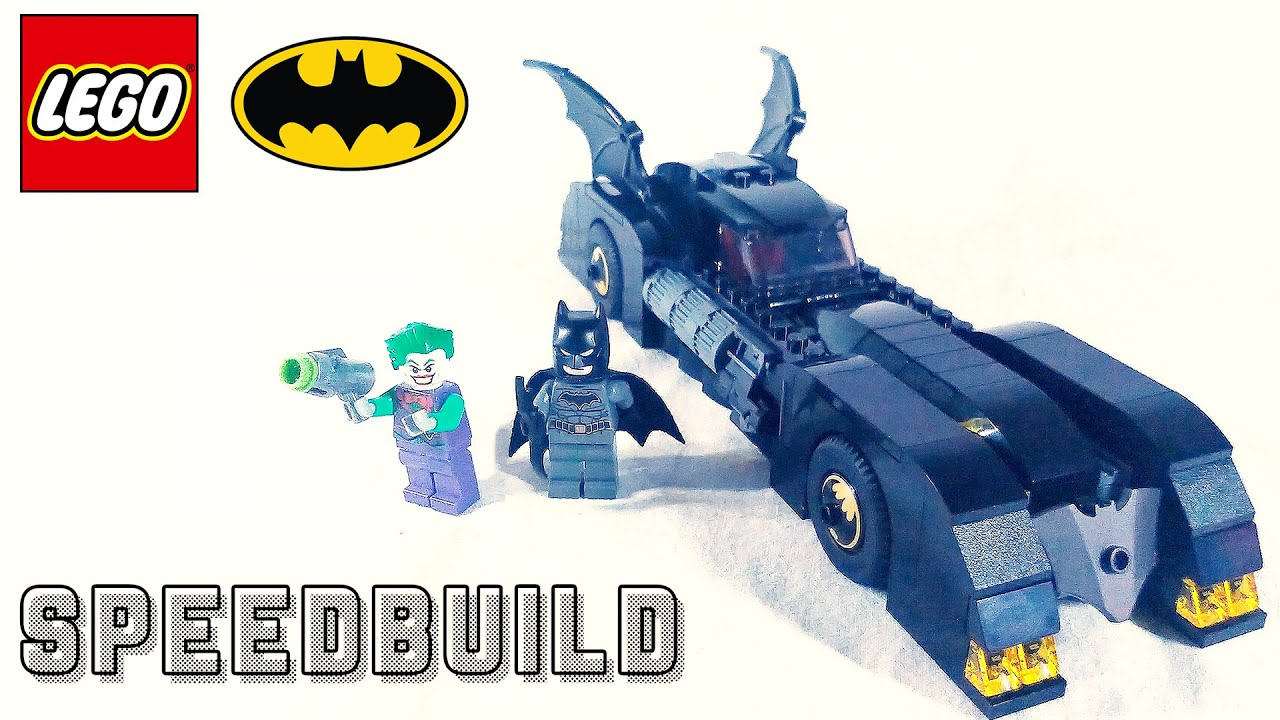 Lego Batman 76119 - Batmobile The Pursuit Of The Joker - Speedbuild!