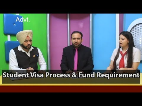 Student Visa Process - Fund Requirement (AU, CA, Europe)