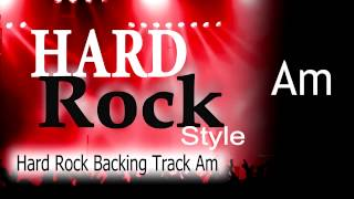 Hard Rock Guitar Backing Track Am 147 Bpm Highest Quality
