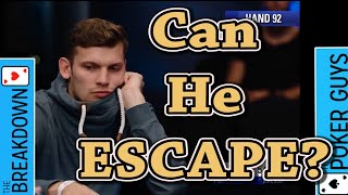 The Breakdown: Can He Possibly Fold the Second Nuts to Ole Schemion?