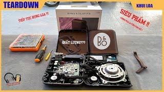 LOOK inside B&O Beoplay P6 Teardown l Loa B&O nội thất khủng ???