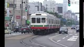 福井鉄道の大型電車