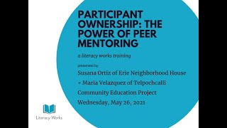 Participant Ownership: The Power of Peer Mentoring