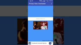 FB Easy Video Downloader
