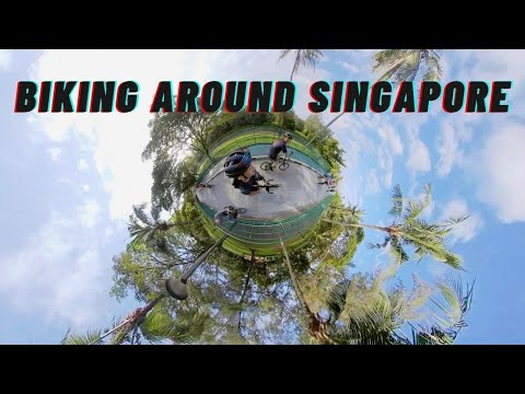 Nearly BREAKING my $5,000 Camera Biking 90km Around Singapore | Places to Visit in Singapore