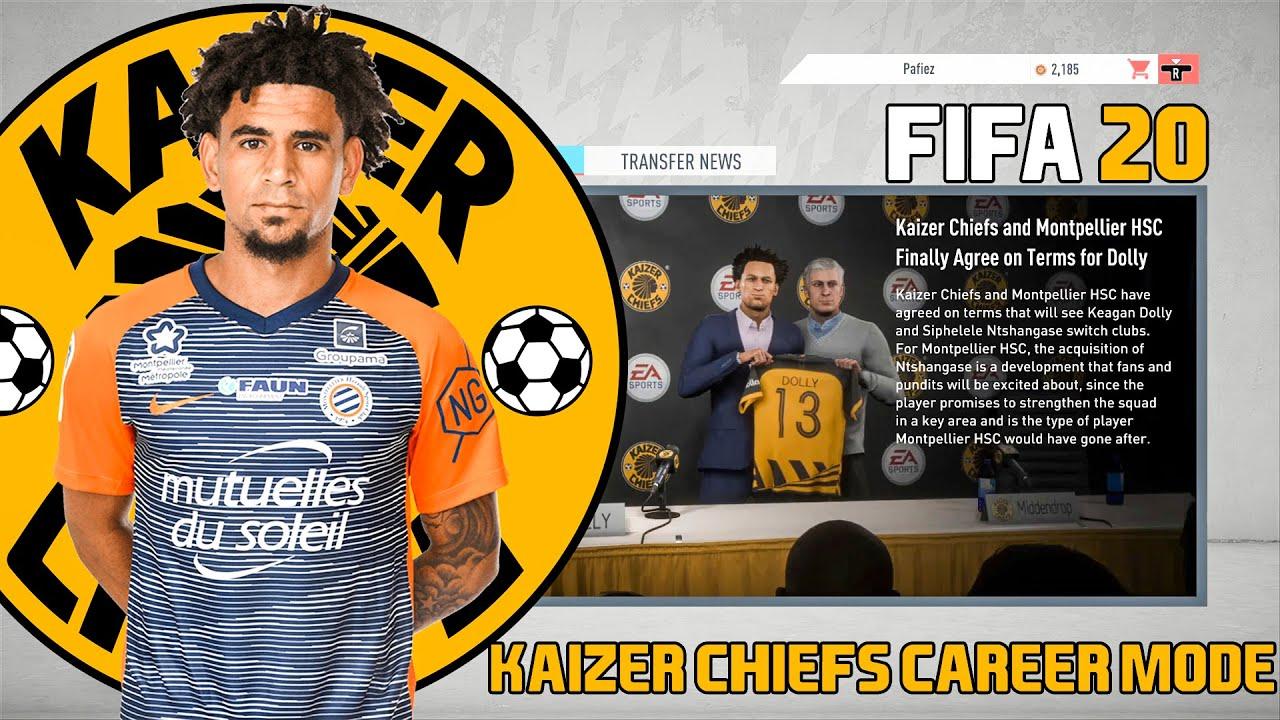 Kaizer Chiefs Sign Keagan Dolly Kaizer Chiefs Takes The Premier League Fifa 20 Career Mode Ep1 Youtube