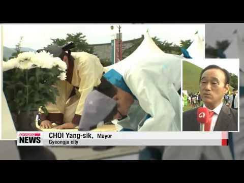 Trimming the Tombs of Kings - Gyeongju′s ′Beolcho′ event   ′신라 임금 이발하는 날′ - 경주 벌