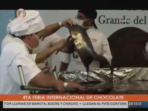 Venezuela quiere un nuevo récord Guinness en materia de chocolate