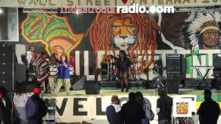 STEPH POCKETS Performing Live at Hood Stock Concert 9/29/12 (In Da Streets Radio)