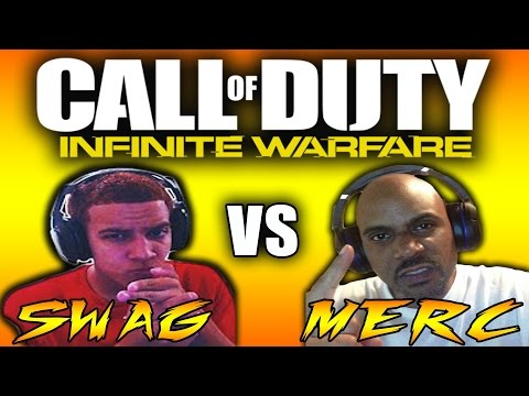 SWAGGXBL VS THE MURDERSHOW! INFINITE WARFARE FREE FOR ALL BATTLE