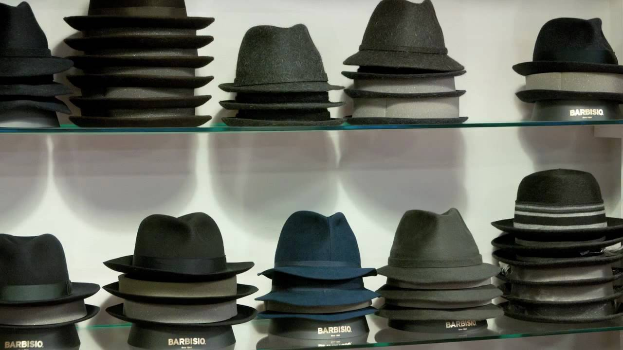 Barbisio Handmade Italian Hats for Men - Exclusively at Madaboutown.com -  YouTube e0c703063c3