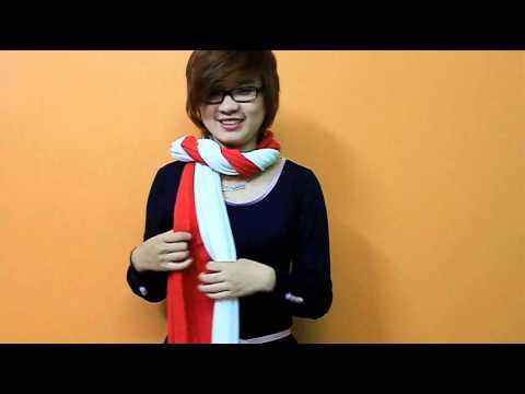 15 cách choàng khăn len cực đẹp