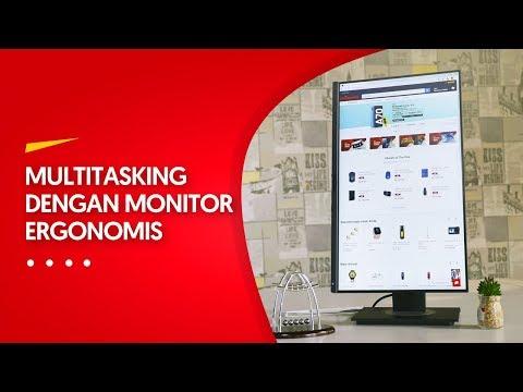 VIEWSONIC VG2455 REVIEW INDONESIA: MULTITASKING? NGGAK MASALAH!