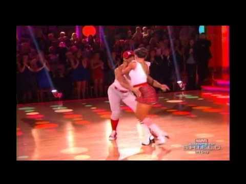 Corbin Bleu and Karina Smirnoff dance Jive - DWTS Season 17 Week 2