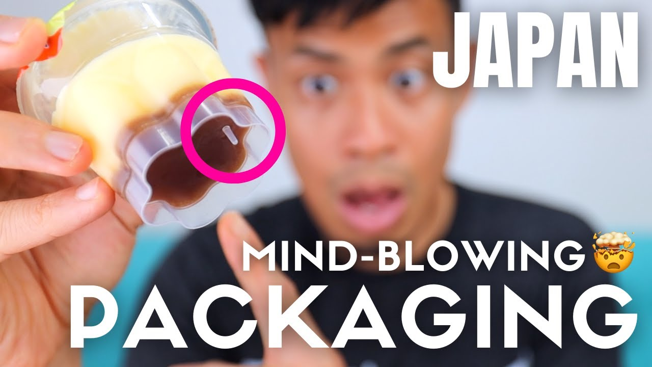 Mind-Blowing Japanese Product Packaging Designs You Didn't Know Existed
