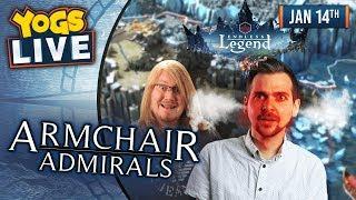ARMCHAIR ADMIRALS! - Endless Legend w/ Lewis, Duncan, Rythian & Daltos! - 14th January 2019