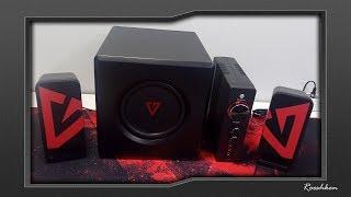 Modecom Volcano Drifter - Niezły zestaw 2.1 z optykiem i BT