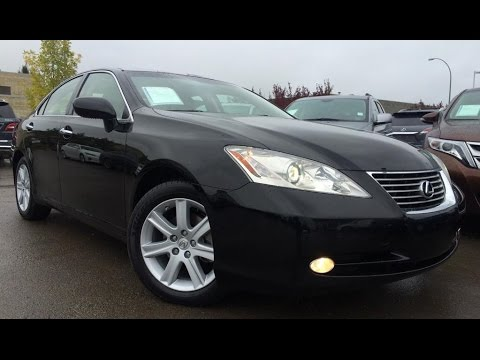 pre owned black 2008 lexus es 350 premium with navigation package review spruce grove alberta. Black Bedroom Furniture Sets. Home Design Ideas