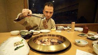 Japanese BBQ + Black Sulfur Egg TASTING at Owakundani Valley | Hakone, Japan