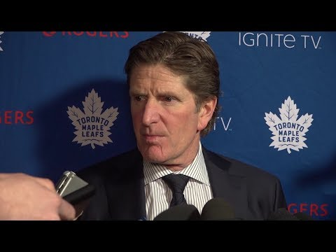 Maple Leafs Post-Game: Mike Babcock - February 12, 2019