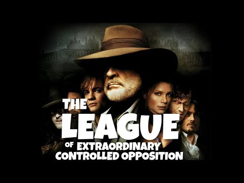 Flat Earth & The League of Extraordinary Controlled Opposition