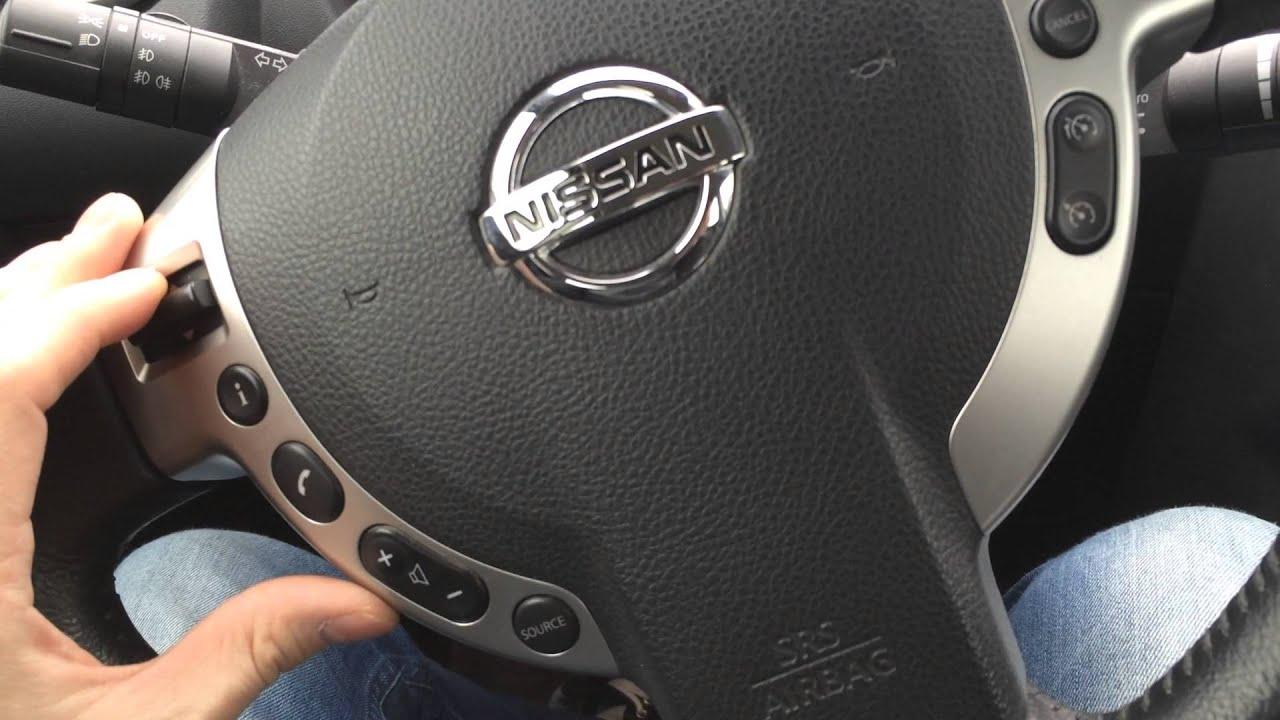 как снять рулевое колесо nissan qashqai
