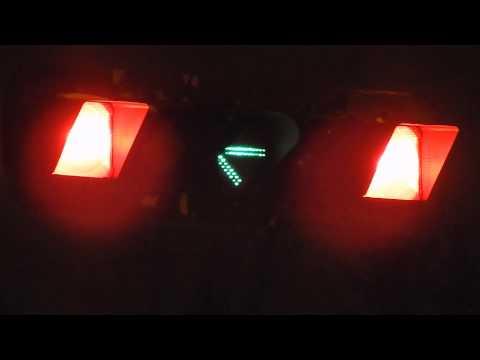 Fiber-optic arrow traffic light