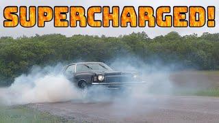 ULTIMATE SLEEPER!  Supercharged 400 SBC Monte Carlo Landau