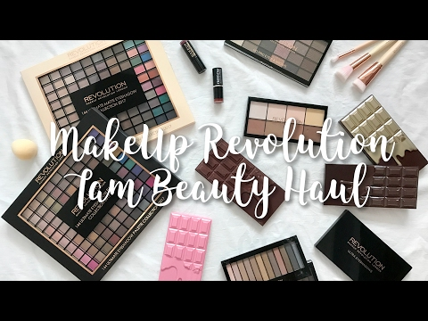 Makeup Revolution Haul + First Impressions