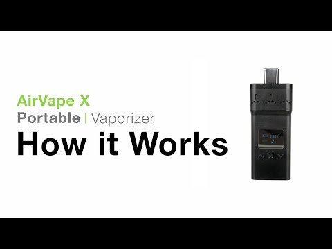 AirVape X Vaporizer Tutorial – TVAPE