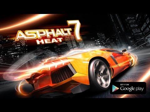 Asphalt 7: Heat - Google Play Game Trailer