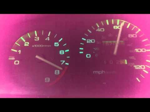 B16a sir II pull 0-100 mph
