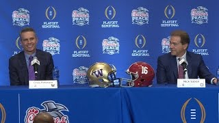 2016 Peach Bowl: Nick Saban wants to know where Chris Petersen got his trick plays