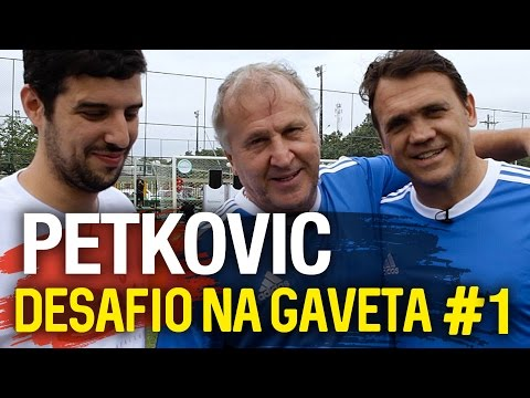 NA GAVETA #1 - PETKOVIC - Desafio De Falta | Canal Zico 10