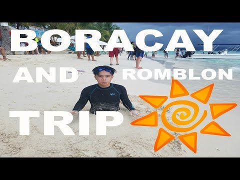 BORACAY AND ROMBLON TRIP! (Philippines) | Rj Gado