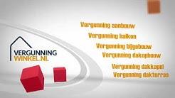 Bouwvergunning bestellen online