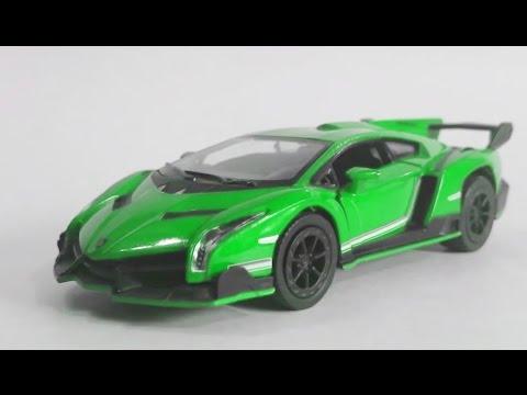 Kinsmart Lamborghini Veneno With Colour Changing Effect Kinsmart